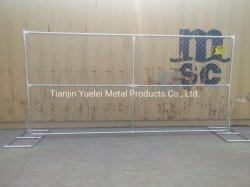 Panneau de clôture temporaire avec le libre-Stand pieds /le maillon de chaîne maille losange Clôture (XY-1265F)