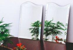 OEM van de Fabriek van China de Goedkope Houten Frame Afgeschuinde Spiegel van de Muur van de Spiegel van de Grens van het Glas Volledige Grote Decoratieve