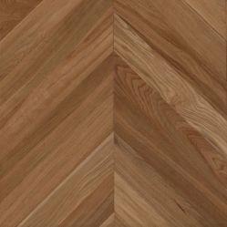 União Oak Walnut Chevron soalhos de madeira sólida olhar Engineered Flooring / Lamnate Flooring
