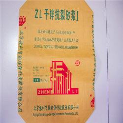Sac en papier kraft recyclables 25kg 50kg de papier kraft sacs de ciment