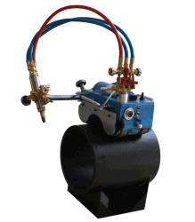 Портативный автоматическое магнитное трубопровода газом oxy-топливо и beveling машины