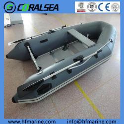 """4,2 m/13'10"""" compact en aluminium/bois/rollup/air-de-chaussée de la pêche de la vitesse/moteur/PVC/bateau Hypalon HSM420"""