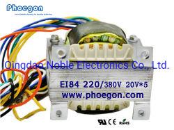 Transformateur électronique Type d'ae transformateur électrique à basse fréquence haute fiabilité 84 l'AE84 l'AE84 Lamination soudé