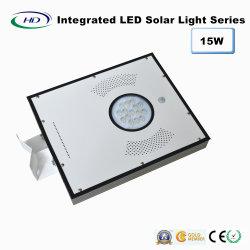 15W capteur PIR LED intégrée Lumière solaire de jardin