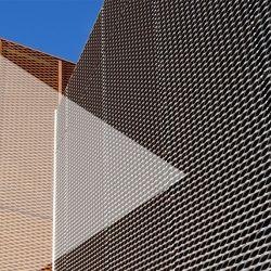 Шаблон с шестигранной головкой алюминий расширенной металлической сетки для верхнего предела