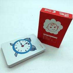 大量のカスタムプレイカードフラッシュメモリカードを印刷中高 子供のための質防水ゲームカード