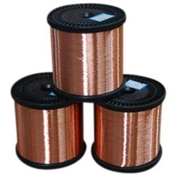 L'ECCA fil rond de cuivre émaillé pour outils des enroulements du moteur