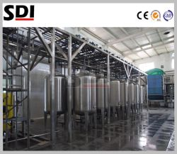 Imbarcazione della colonna della resina della prova di Corrision del rivestimento di Po dell'acciaio inossidabile con Hci acido usando per la trasformazione dei prodotti alimentari