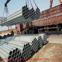 L'irrigazione ha utilizzato un tubo d'acciaio galvanizzato tuffato caldo Q235 da 6 pollici