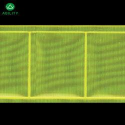 Bande réfléchissante 5.0cm Green Grid pour la sécurité Vêtements de sécurité