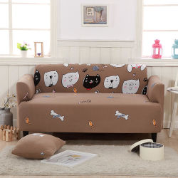 Couvercle de la table en tissu Spandex Stretch canapé housse protecteur du mobilier de style