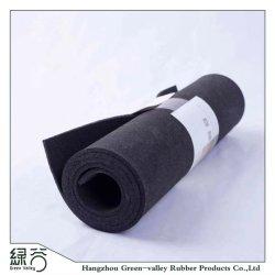 Het antislip Goedkope Openlucht Zwarte Broodje van het Matwerk van de Vloer van de Kleur Rubber