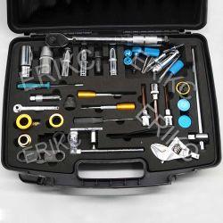 Erikc Bo-S-CH Denso 40pcs Delphi Outil de dépose de l'injecteur de carburant diesel (40 PCS Outil de dépose des injecteurs) Outils de montage des injecteurs de gazole désassemblage
