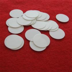 Рефрактерный раунда тонкая белая Al2O3 керамические пластины диска