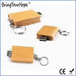쉐이프 USB 플래시 디스크 인우드 소재(XH-USB-016) 예약