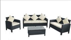 Resina de PCS 4 Tecidos de mobiliário de exterior definido