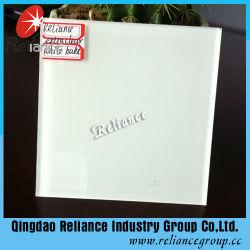 4-6mm pintadas de branco vidro Ultratransparente/Vitrais