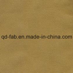 100%Tissu à armure sergé de coton bio (QDFAB-8643)
