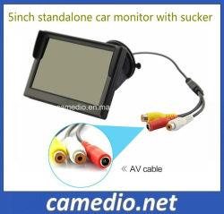 Voiture numérique autonome de 5 pouces Moniteur LCD avec parasol et le support de pivot