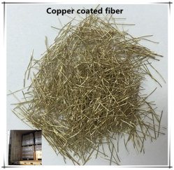 Le renforcement de fibres d'acier pour béton micro fibre d'acier