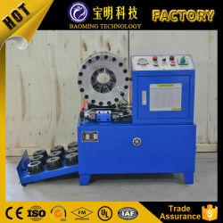 China melhor máquina de crimpagem de borracha Eléctrico Tubo Máquina de trancamento automático