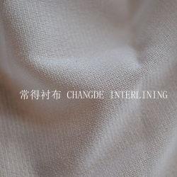 ゆがみによって編まれるWeft挿入3075 40100の40120の40150の衣服のアクセサリの可融性に行間に書き込むこと