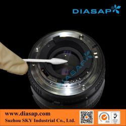 Eco-Frindly хлопка рецепторы ватные палочки для чистки оптический разъем (ST-004)