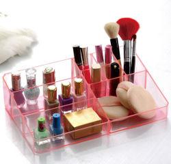 Conception spéciale de l'organisateur de maquillage en acrylique