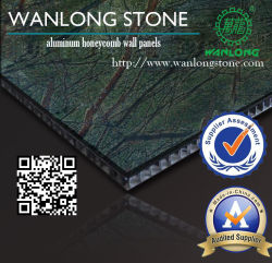 1mm 알루미늄 벌집 돌 위원회를 위한 얇은 화강암 도와
