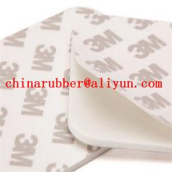 EVA/junta silicone aderente com almofada de borracha