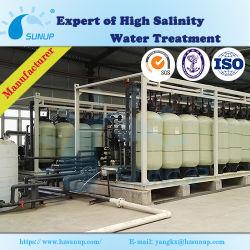 RO de dessalinização da água do suprimento de água municipal