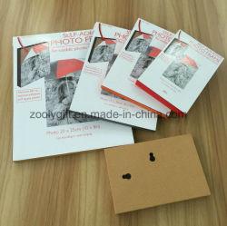 A4 / 8X10 /6X8 / 5X7 / 4X6 Cadre photo autoadhésif Re-Usable Bloc Photo Frame