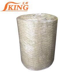Las hojas del techo de material de tela de manta de lana de roca no inflamable