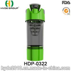 2017 Nouvelle arrivée, une salle de gym en plastique de protéine Shaker, cyclone tasse en plastique sans BPA (HDP-0322)