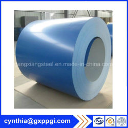 Couleur RAL enduit galvanisé prélaqué acier inoxydable dans la bobine de bande en acier PPGI PPGL Matériaux de construction