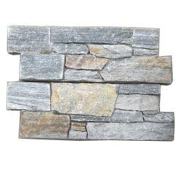 ローカル石切り場の灰色のスレートのセメント文化石