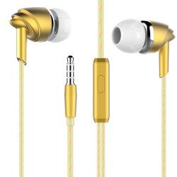Commerce de gros prix d'usine in-ear je Kosan écouteurs stéréo avec microphone