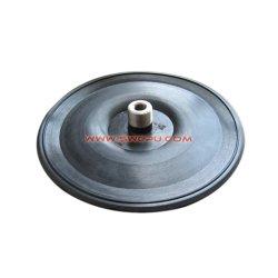 Disco OEM gás diafragma de vedação de borracha de silicone / Flat membrana da válvula de retenção de ar
