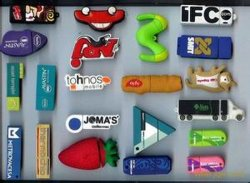 Customized Shape PVC USB Flash Drive with Real Capacity