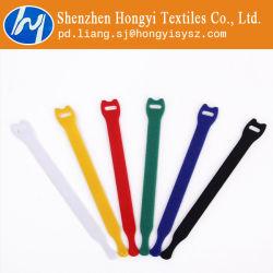 Heavy Duty réutilisable Fixation crochet et boucle attache de câble