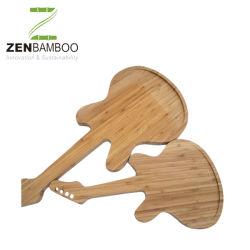Лазерная гравировка Custom бамбука блок для измельчения Friuts