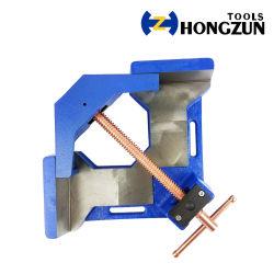 直角クランプ用延性鉄テーブルバイス