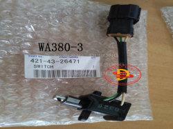 Komatsu chargeur Wheelo pièces de rechange pour contacteur de stationnement (421-43-26471)