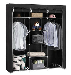 Moderne eenvoudige Wardrobe Household Fabric Folding Cloth Ward Storage Assembly King Size Reinforcement Combination Simple Wardrobe (FW-35C)