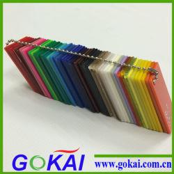Нанеся цветной акриловый лист производителя