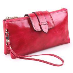 클러치 지갑 카드 홀더 지갑 체인 코인 피켓 Leather Wallet Ladies Mini Wallet(아이디 윈도우 포함)(WDL01100)
