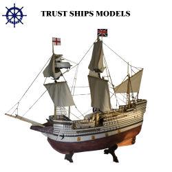 2015 سفينة [هندمد] خشبيّة نموذجيّة