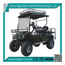 Caça Car, Electric, 4 Seat, CE Approved, com Front Bumper