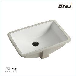 """Popolare lavabo di vanity da 21"""" con certificato CUPC per lavaggio in ceramica porcellana Lavandino per bagno sotto il supporto Bain"""