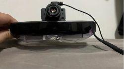 Reconhecimento de faces Ar Vr óculos com câmera térmica clássica Scanner